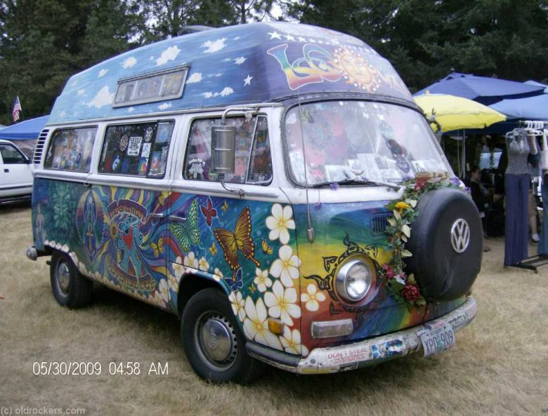 VW Van Westy Hippy Bus