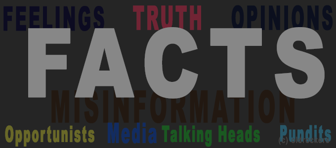 Media & Politics: Do Facts Matter